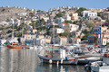 Gialos Harbour in Symi (Greece) - PhotoDune Item for Sale
