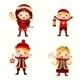 Christmas Kids Collection - GraphicRiver Item for Sale