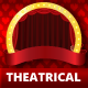 Theaterical Stage Performance Trifold Brochure - GraphicRiver Item for Sale