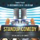 Stand-Up Comedy Flyer - GraphicRiver Item for Sale
