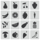 Vector Black Food Icons Set - GraphicRiver Item for Sale