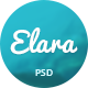 Elara - Multi-Purpose PSD Template - ThemeForest Item for Sale