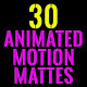 Clean Animated Motion Mattes Pack Vol.6 - VideoHive Item for Sale