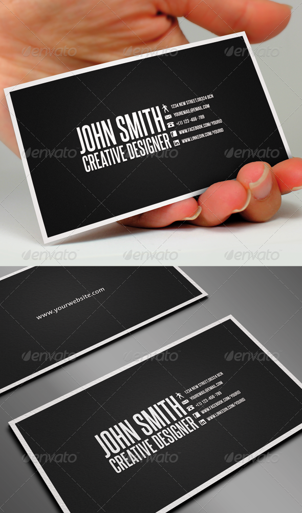 GraphicRiver Clean Business Card 680093