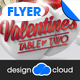 Valentine Table for Two Party and Event Flyer - GraphicRiver Item for Sale