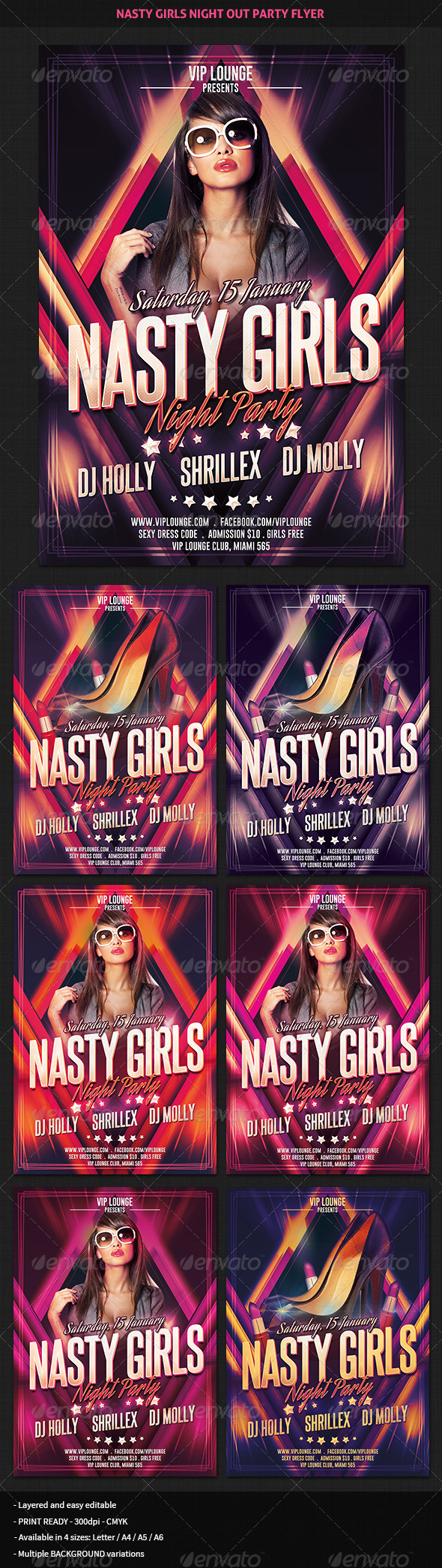 Topic join. nasty girls night out