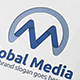 Media Global M Letter Logo - GraphicRiver Item for Sale