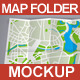 Map / Poster Folder Mockup - GraphicRiver Item for Sale