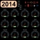 2014 Year Calendar Speedometer - GraphicRiver Item for Sale