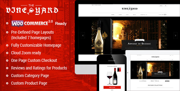 ThemeForest Responsive WooCommerce Theme WineStore 6511128