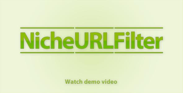 CodeCanyon NicheURLFilter Version 1.0 681808