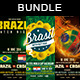 Brazil 14 Flyer Bundle Vol. 3 - GraphicRiver Item for Sale