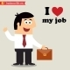 I Love My Job - GraphicRiver Item for Sale