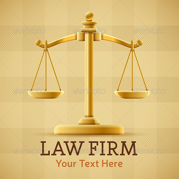 Law Firm Justice Scale | GraphicRiver