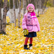 Little girl outdoors in autumn park - PhotoDune Item for Sale