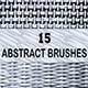 15 Abstract Wicker Brushes - GraphicRiver Item for Sale