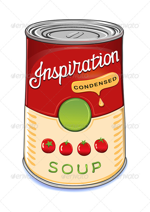GraphicRiver Can of Condensed Tomato Soup Inspiration 6524239