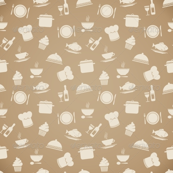 Restaurant Menu Background Wallpaper