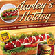 Hotdog Menu Flyer - GraphicRiver Item for Sale