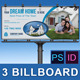 Real Estate Business Billboard | Volume 4 - GraphicRiver Item for Sale