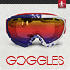 Goggles Mock-up - GraphicRiver Item for Sale