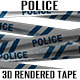 Police Barricade Tape - GraphicRiver Item for Sale