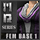 Cleric- MR Series Fem Base 1 - 3DOcean Item for Sale
