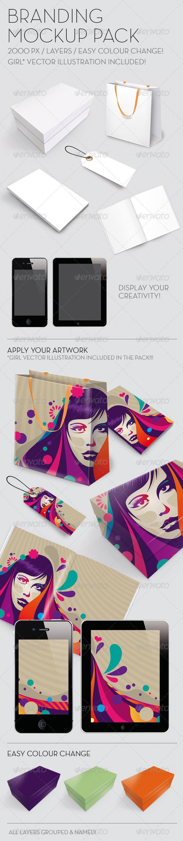 GraphicRiver Branding Mockup Pack 680938
