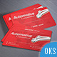 Automotive Business Card v3 - GraphicRiver Item for Sale
