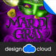 Mardi Gras Event Flyer - GraphicRiver Item for Sale