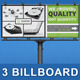 Multipurpose Business Billboard | Volume 2 - GraphicRiver Item for Sale