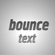 Bounce Text Presets Pack - VideoHive Item for Sale