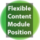 Flexible Content Module Position for Joomla - CodeCanyon Item for Sale