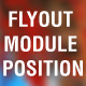 Flyout Module Position for Joomla - CodeCanyon Item for Sale
