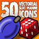 50 Vectorial Slot Machine Icons - GraphicRiver Item for Sale