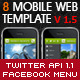 Mobile & Tablet Web Template - HTML5 & CSS3 - ThemeForest Item for Sale