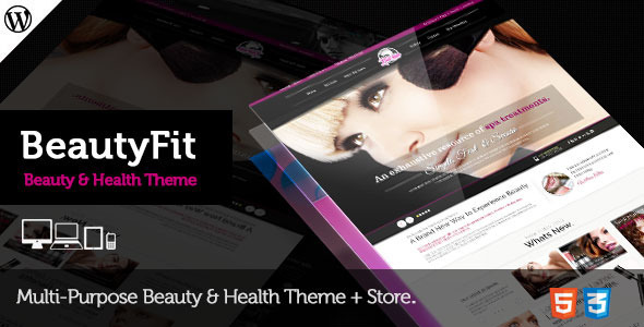 ThemeForest BeautyFit Health & Beauty Multipurpose Theme 6552640