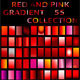Illustrator Red Gradient Collection - GraphicRiver Item for Sale