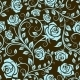 Antique Scrolling Rose Seamless Pattern - GraphicRiver Item for Sale