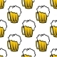 Beer Seamless Pattern - GraphicRiver Item for Sale