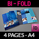 Company Brochure Bi-Fold Template Vol. 16 - GraphicRiver Item for Sale