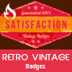 Retro Vintage Badges - GraphicRiver Item for Sale