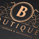 Vintage Boutique Logo Template - GraphicRiver Item for Sale