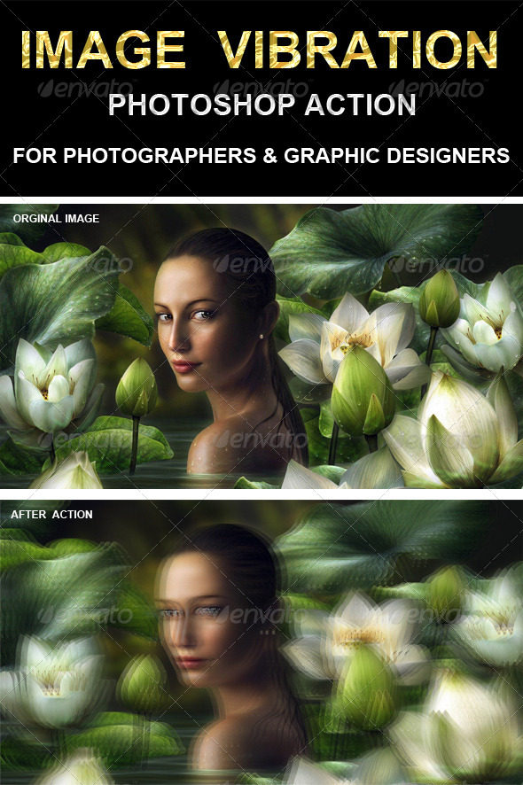 GraphicRiver Image vibration Photoshop Action 6577962
