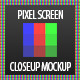 Pixel Zoom Screen Mockup - GraphicRiver Item for Sale