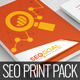 SEO Goal : SEO Business Standard Print Pack - GraphicRiver Item for Sale