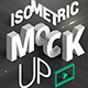 Isometric Mock-UP Actions vol.2 - GraphicRiver Item for Sale