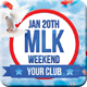 MLK Weekend Flyer - GraphicRiver Item for Sale