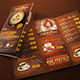 Trifold Brochure - Coffee Menu - GraphicRiver Item for Sale