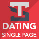 Dating Paradise - ThemeForest Item for Sale